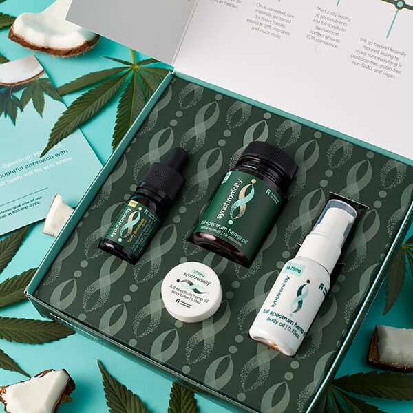 CBD kit for trying CBD. Don't overpay just to try CBD. Try different ways to take CBD