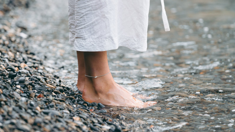 earthing doesn't mean just standing in dirt. Stand in a stream, creek or river if you wish. CBD for wellness. CBD for clairvoyance. CBD for extra senses.