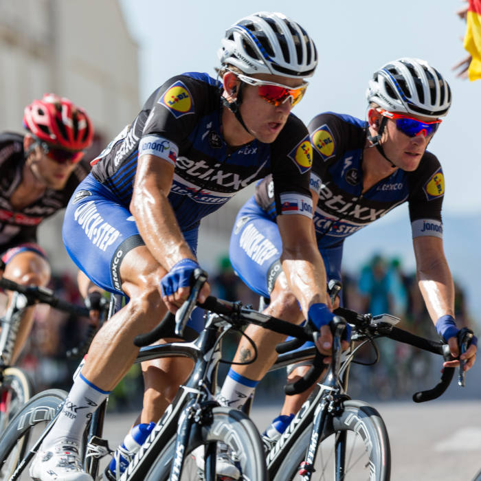 The Tour De France is a good example of a very competitive event involving sponsored athletes, but riding bicycles instead of throwing footballs, shooting baskets, or teeing off the black boxes. These endurance racers definitely need powerful warm up and cool down routines. Is CBD apart of a professional cyclists routine for exercise or wellness?