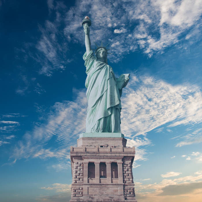 Lady Liberty, were she alive, would tell us she's sore from holding that torch all this time. Well, she's not real, she's bronze. But if she were, we'd give her some of our CBD balm to help relax those muscles of hers.