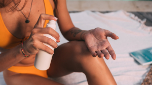 There is an order you should use concerning a moisturizer and sun block.