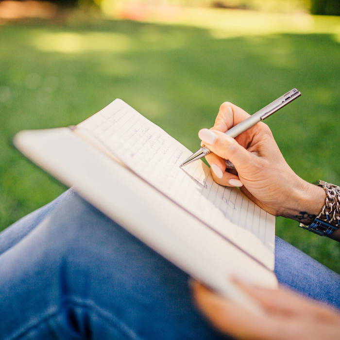 Keeping a Journal is great for self care. CBD For self care is also great. Daily CBD routine. Daily schedule for taking CBD